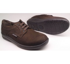 Mobils by Mephisto CASSEN dark brown nubuck       EXTRA WIDE