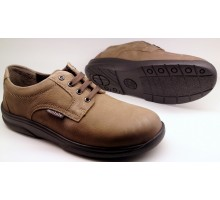 Mobils by Mephisto CASSEN taupe nubuck laceshoe for wide feet