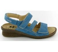 969bbbe2f81 Mobils by Mephisto BREBINA turquoise blue nubuck WIDE FIT