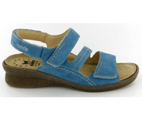 Mobils by Mephisto BREBINA turquoise blue nubuck     WIDE FIT