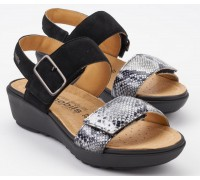 Mobils by Mephisto FOLINA black suede leather