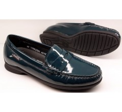 Mobils by Mephisto CRIZIA petroluem green patent leather     WIDE FIT