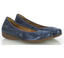 Mobils by Mephisto FABRIZIA old vintage blue leather           WIDE FIT