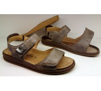 Mobils by Mephisto QENNIE dark brown nubuck wide fit sandal for women