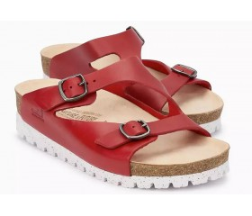 Mobils by Mephisto TASHA Women Sandal - Wide Fit - Red