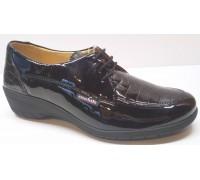 Mobils by Mephisto SELDA croco black patent leather