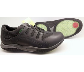 Sano by Mephisto ACTOR AIR black leather   ROLLING SHOES