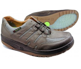Sano by Mephisto RAPTOR taupe grey leather